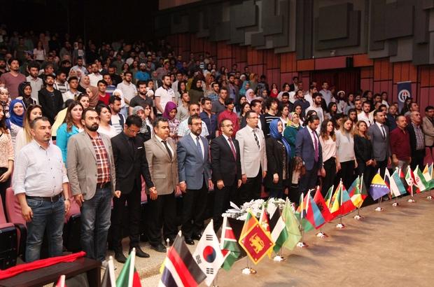 """GAÜN'de 1. Uluslararası Öğrenci Festivali """"İki Dil Bir Nefes"""""""