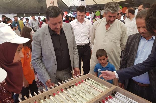 Harran'da TÜBİTAK Bilim Fuarı açıldı
