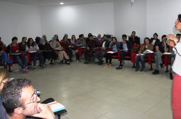 Van'da 'Kadına Yönelik Şiddetle Mücadele' eğitimi