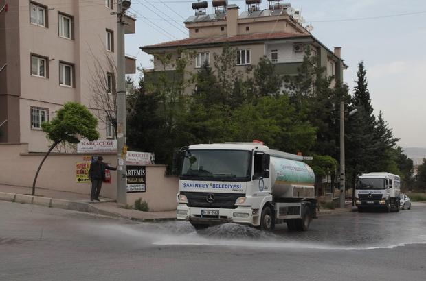 Şahinbey Belediyesinden Bahar Temizliği
