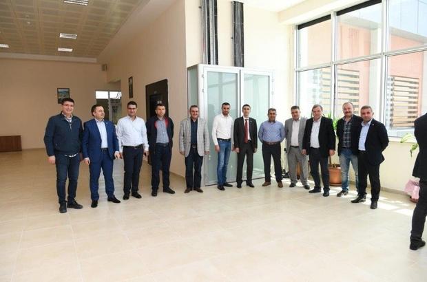 Kayseri OSB'de sanayicilerle toplantı gerçekleştirildi