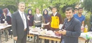 Besni'de şehit aileleri için kermes düzenlendi