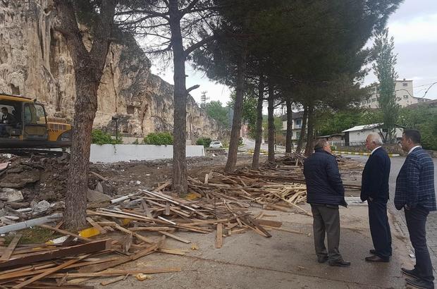 Reşadiye Kaplıca Otel Yenileniyor