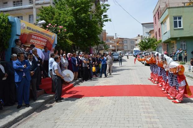 Besni Halk Eğitim Merkezinde yıl sonu sergisi açıldı