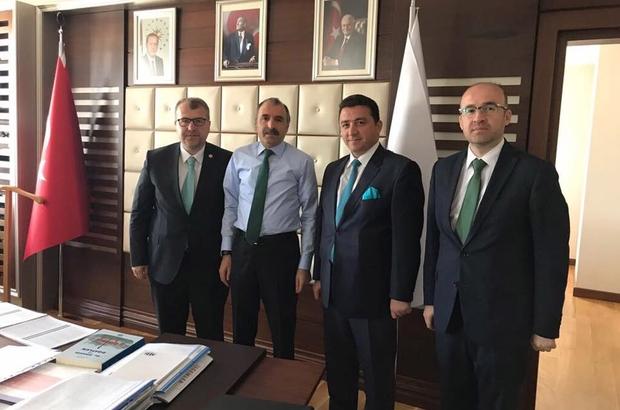 Başkan Bakıcı Ankara'da temaslarda bulundu