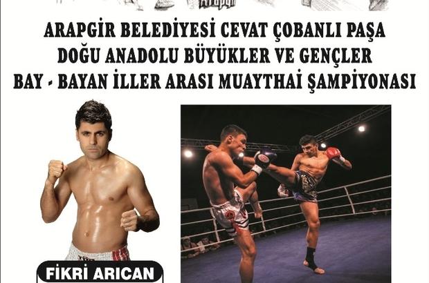 Muay Thaı dünya şampiyonları Arapgir'de ringe çıkacak