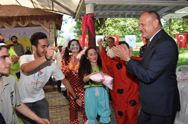 Başkan Keleş özel çocuklarla bir araya geldi