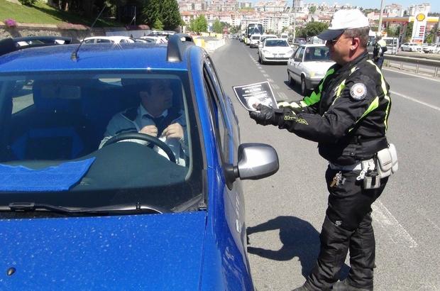 Polisten hediyeli trafik uygulaması