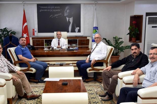 Başkan Kayda, esnaf odası başkanlarının taleplerini dinledi