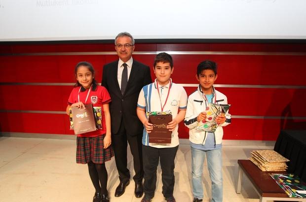 Matematik şampiyonlarına ödüller Köşker'den