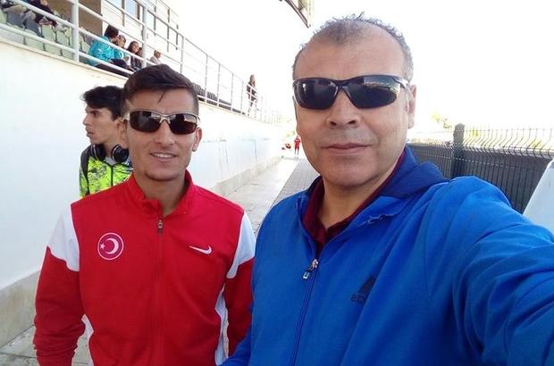 Serkan Doğan'dan atletizmde Türkiye rekoru