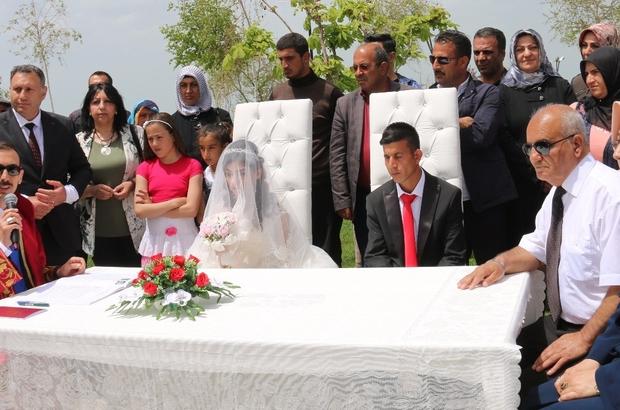Özel insanlar özel günde nikah masasına oturdu