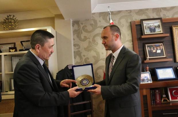 Büyükelçi Ulfat Kadyrov'dan TSO'ya ziyaret