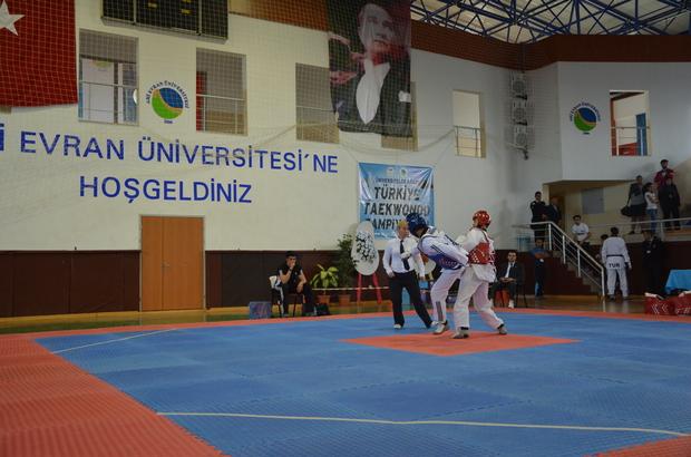 Üniversitelerarası Tekvando Şampiyonası, Kırşehir'de başladı