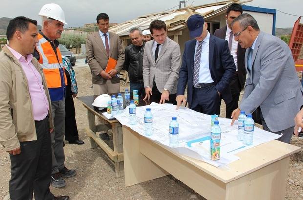 Vali Köse 112 Acil Çağrı Merkezi inşaat alanını inceledi