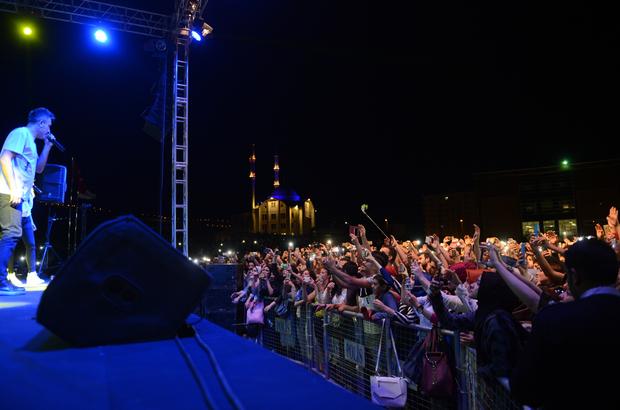 Sagopa Kajmer, Kilis'te konser verdi