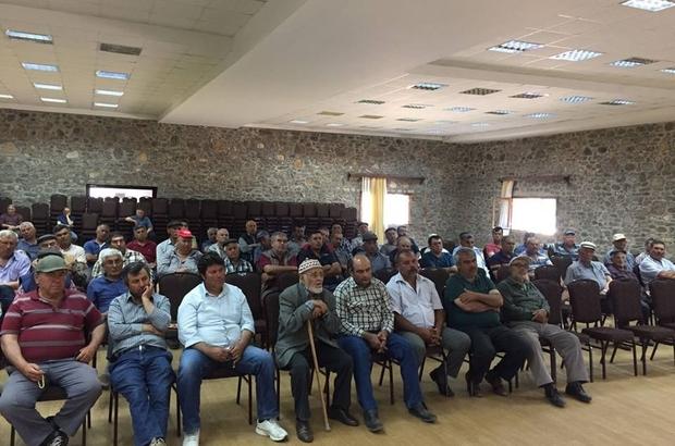Muğla'da çiftçilere bilgilendirme toplantısı düzenlendi