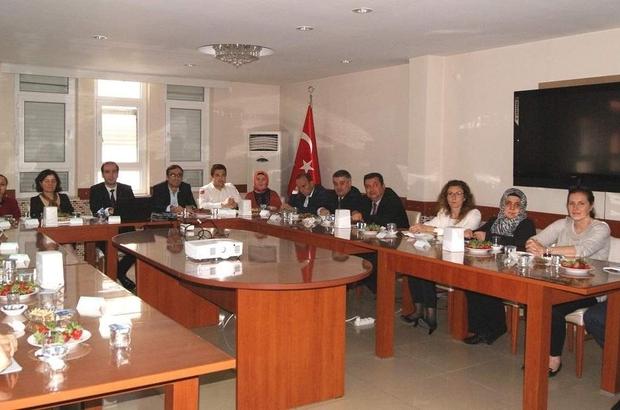 Aydın'da İlçe Sağlık Müdürleri durum tespiti yaptı