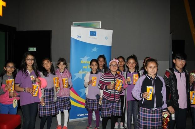 Avrupa Günü Çocuk Film Gösterimi Etkinliği Gerçekleştirildi