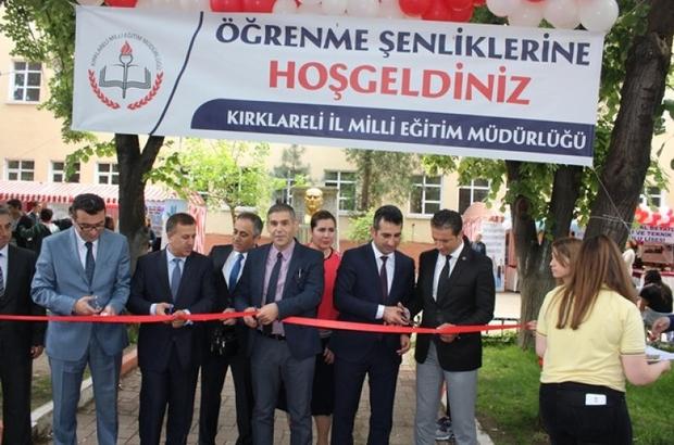 """Kırklareli'nde """"Öğrenme Şenliği"""" açıldı"""