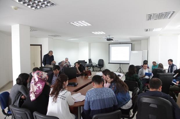 """Ahlat'ta """"Horizon 2020"""" proje eğitimi"""
