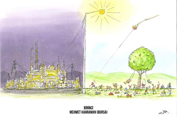 AOSB karikatür yarışması'nda kazananlar belli oldu