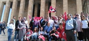 Özel öğrencilerin anıtkabir ve akvaryum heyecanı