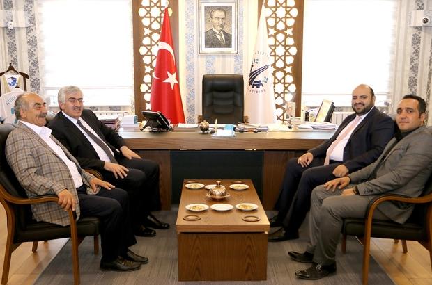 AK Parti İl Başkanı Öz'den Başkan Orhan'a teşekkür ziyareti