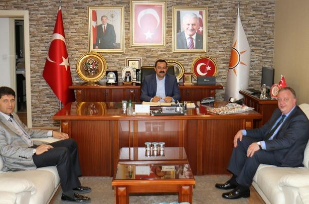 """AK Parti İl Başkanı Sümer: """" Antalya , Rusya ile dostluk bağının güçlenmesinde önemli bir rol oynuyor"""""""