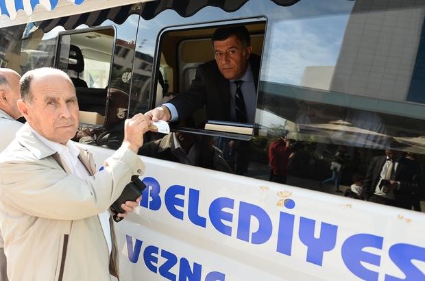 Muratpaşa'da vergi borçları için mobil vezne yollara çıkıyor