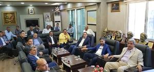 AK Parti Harran İlçe Yürütme Kurulu toplandı