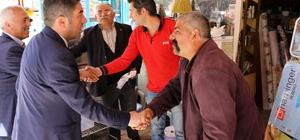 CHP'den Hekimhan'a teşekkür ziyareti