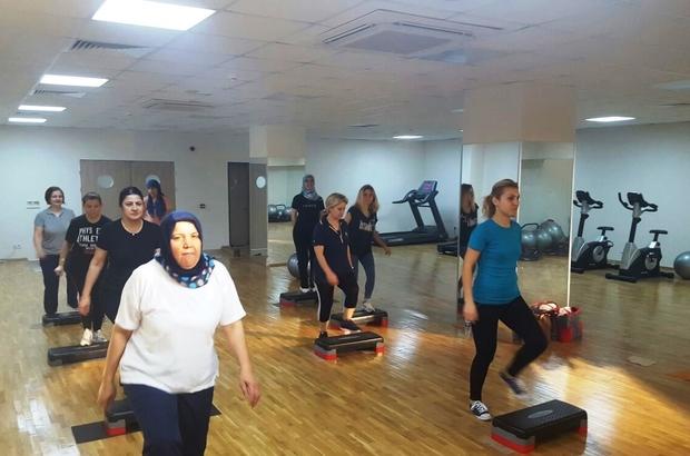 Fitness salonlarından 20 binden fazla kadın yararlandı
