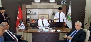 Başkan Öz, Pasinler, Horasan, Köprüköy ve Narman'ı ziyaret etti
