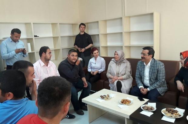 Engelsiz Yaşam Merkezi Atilla'yı ağırladı