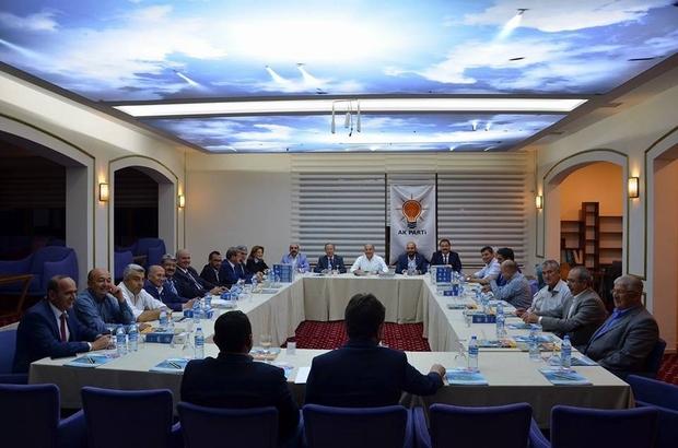 AK Parti'den 'istişare ve değerlendirme' toplantısı