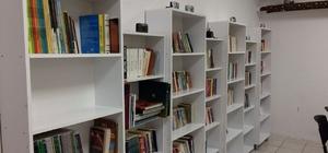 Bornova Beckerspor ilk köy kütüphanesini Fatsa'da açtı
