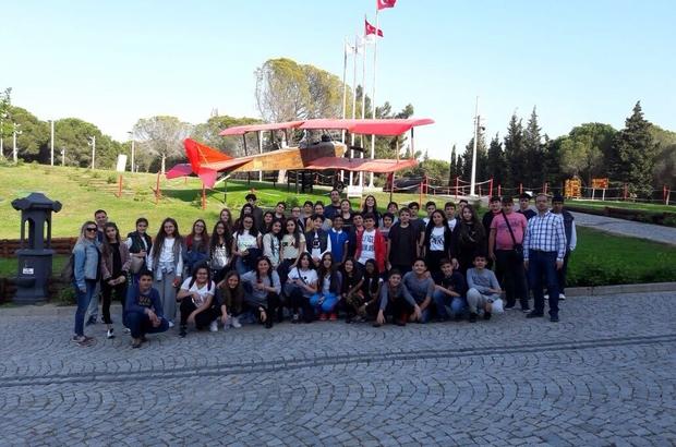 GKV öğrencilerinden Çanakkale çıkartması