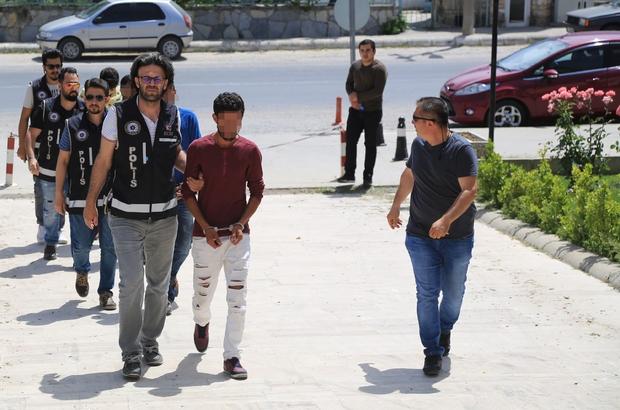 Milas'ta uyuşturucu sevkıyatına polis engeli