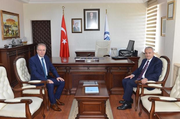 Vali Dirim'den Rektör Uzun'a iade-i ziyaret