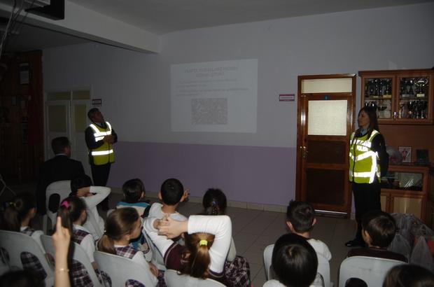 Öğrencilere trafik semineri