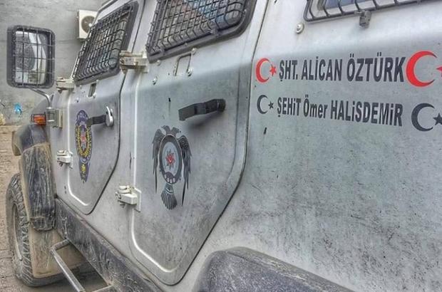 Şehit Polis Memuru Alican Öztürk'ün ismi zırhlı araçlarda yaşatılıyor