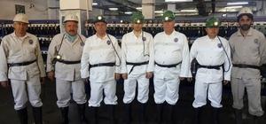 Esnaf başkanları maden ocağında -350'ye indi