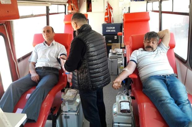 Hanönü 'de Kan Bağışı kampanyasına yoğun ilgi
