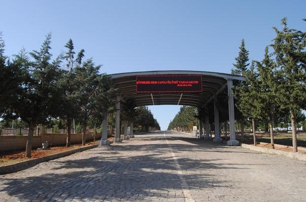 Şanlıurfa Asri Aile Mezarlığında yeni düzenleme