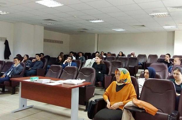 SAÜ'de idari personele oryantasyon eğitimi