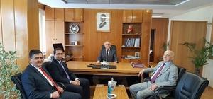 Başkan Yalçın'dan Karayolları Bursa 14. Bölge Müdürlüğüne ziyaret