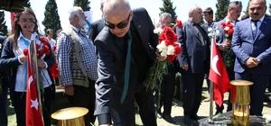 Başkan Ergün maden şehitlerini andı