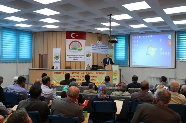Erzincan'da Arıcılık Semineri yapıldı