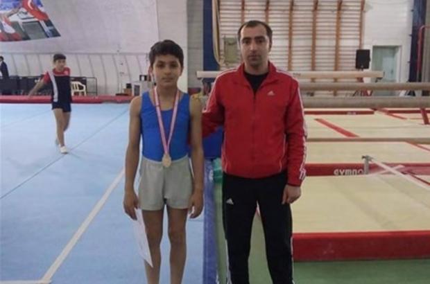 Jimnastikte Türkiye birincisi oldu